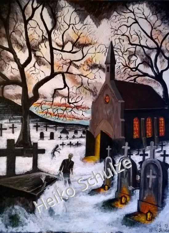 Nachtschatten Seegefelder Kirche