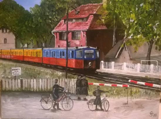 S-Bahn in Falkensee