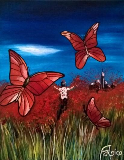 Die purpurroten Schmetterlinge
